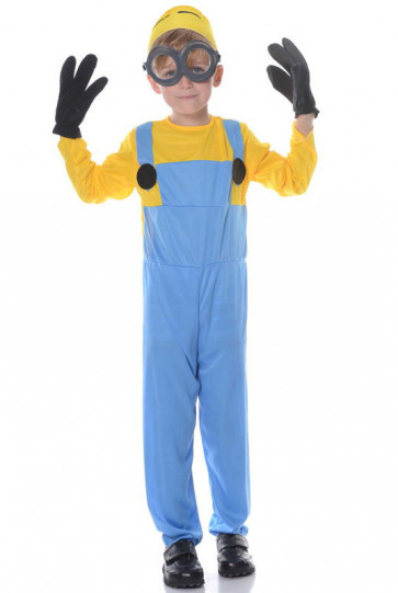 Minions Cosplay Costume For Boys Halloween Costume