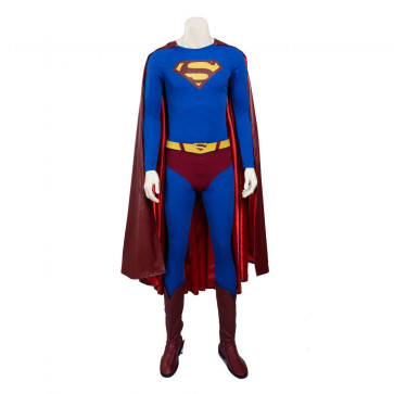 Classic Superman High Quality Cosplay Costume For Adults Halloween Costume