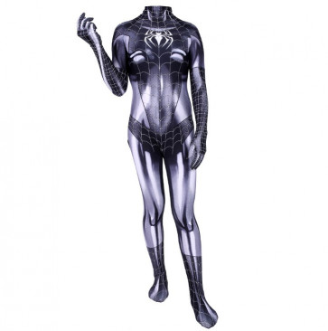 Black Cat Symbiote Lycra Cosplay Costume