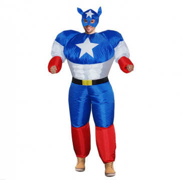 Inflatable Captain Costume