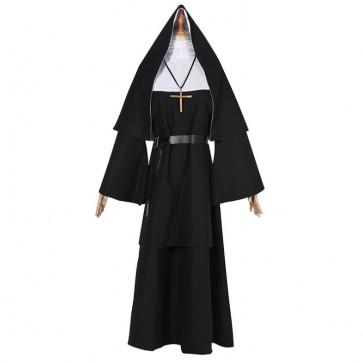 Nun Complete Cosplay Costume