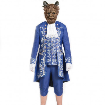 New Beauty And The Beast Prince Cosplay Costume For Men Halloween Costume