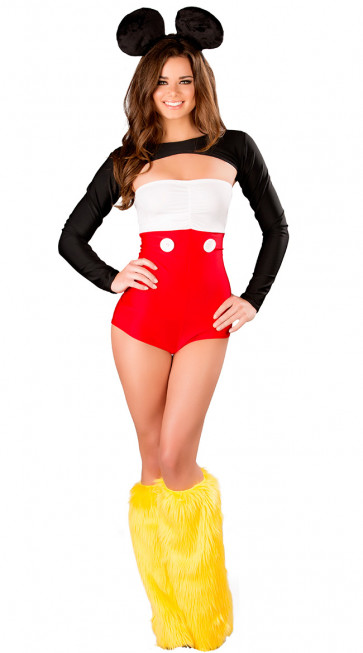 Sexy Mickey Mouse Womens Costume