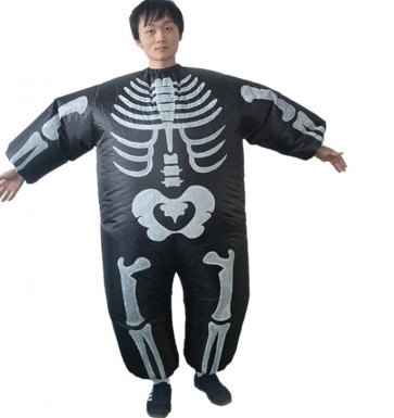 Giant Inflatable Skeleton Costume