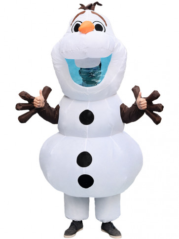 Giant Olaf Inflatable Costume