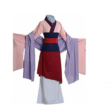 Mulan Complete Cosplay Costume Dress