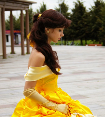 Classic Belle Hair Cosplay