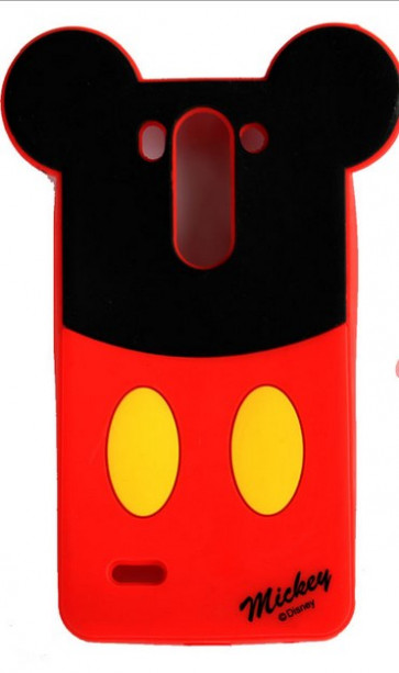 Mickey Mouse Silicone Case for LG G3 Beat Mini D722K