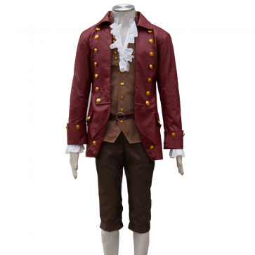 Gaston Cosplay Costume Disney Beauty and the Beast For Adults Halloween Costume