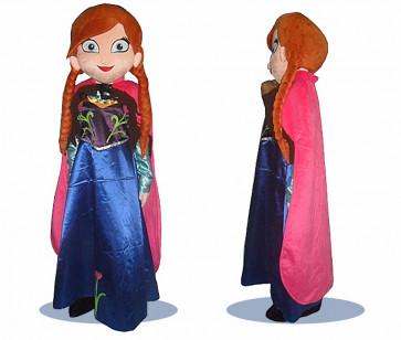 Giant Anna Frozen Mascot Costume