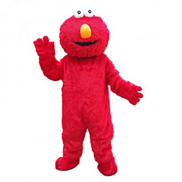 Giant Elmo Mascot Costume