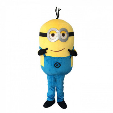 Giant Minion Cosplay Halloween Costume Mascot