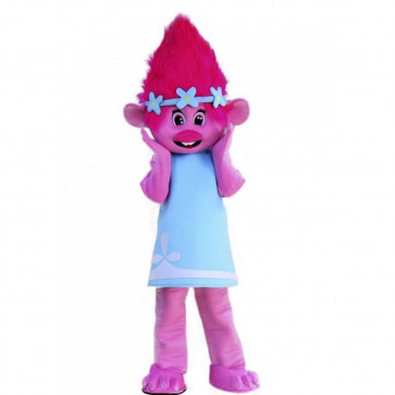 Giant Poppy Trolls Mascot Costume