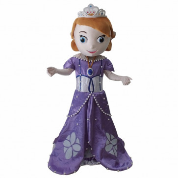 Giant Sofia the First Mascot Costume
