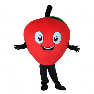 Giant Apple Mascot Costume