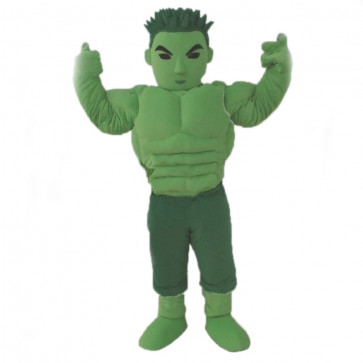 Giant Hulk Mascot Costume