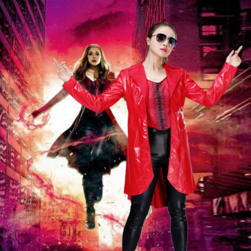 Scarlet Witch Avengers Lycra Costume