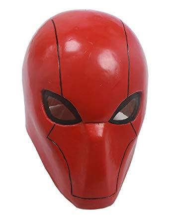 Red Hood Mask Helmet