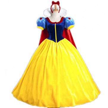 Disney Snow White Cosplay Outfit For Children and Adults Halloween Costume