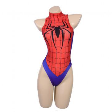 Sexy Spider Man Womens One Piece Bikini Swimsuit