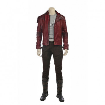 Star Lord Jacket Shirt And Pants Cosplay Costume