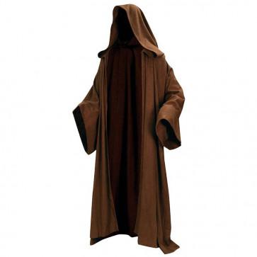 Obi Wan Kenobi Jedi Robe Brown
