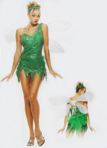 Tinker Bell Beauty Princess Costume Dress Halloween Costume