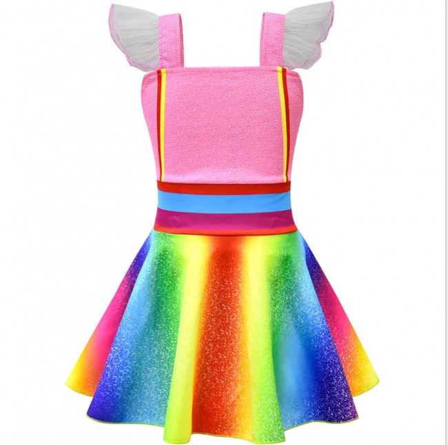 Fancy Nancy Rainbow Dress Costume Costume Party World
