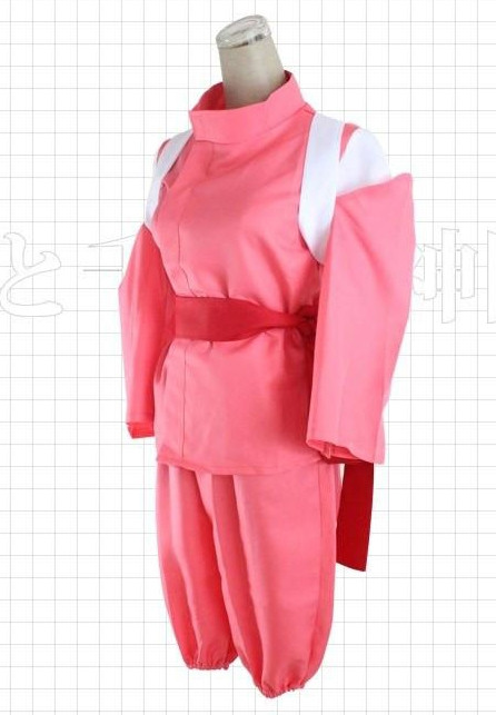 Chihiro Spirited Away Girl Costume Cosplay Costume Party World