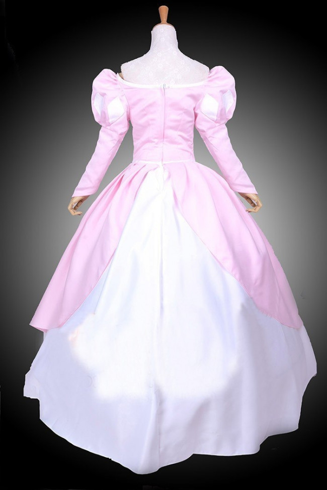Ariel Pink Dress Costume Cosplay Costume Party World