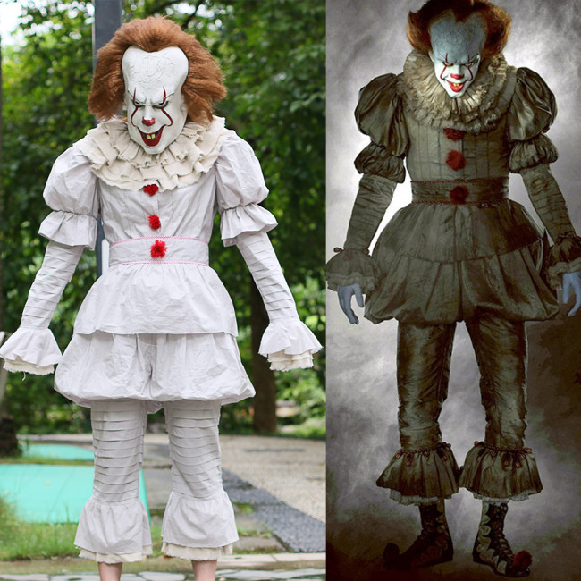 Pennywise The Clown It Complete Cosplay Costume Costume Party World