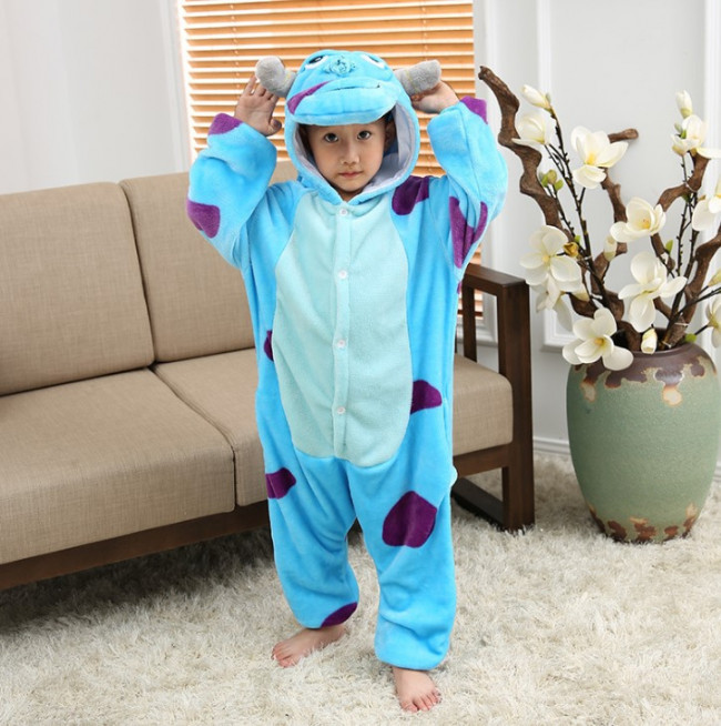 Kids Sully Monsters Inc Onesie Jumpsuit Costume Costume Party World