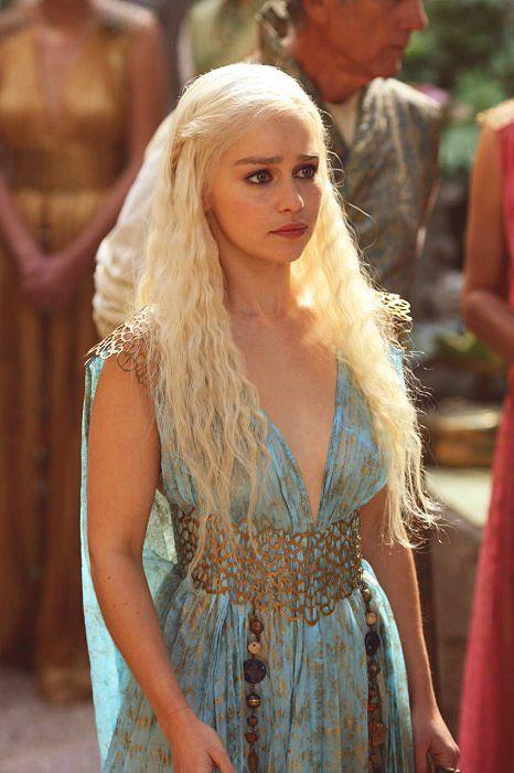 Daenerys Light Blue Dress Cosplay Costume Games of Thrones Halloween Costume  sc 1 st  Costume Party World & Daenerys Light Blue Dress Cosplay Costume Games of Thrones Halloween ...