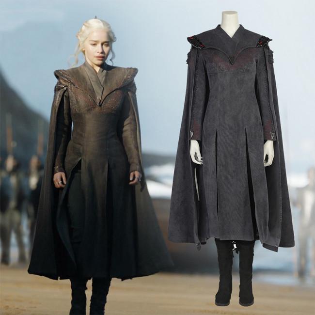 Daenerys Targaryen Khaleesi Complete Cosplay Costume From Season 7  sc 1 st  Costume Party World & Daenerys Targaryen Khaleesi Complete Cosplay Costume From Season 7 ...