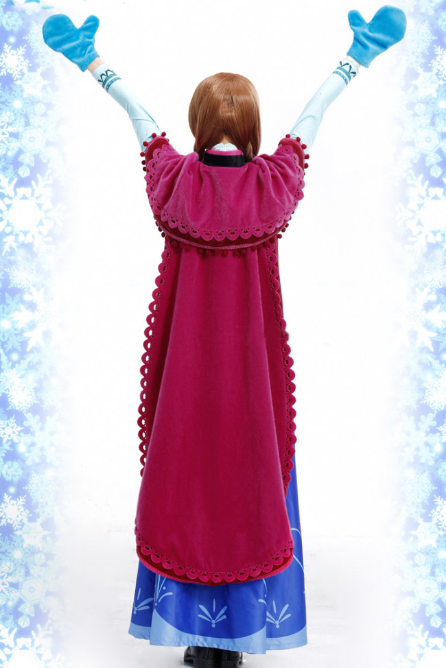 Disney Anna Frozen Complete Cosplay Costume For Adults Halloween Costume : anna halloween costume  - Germanpascual.Com
