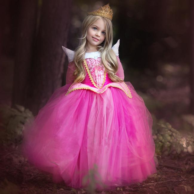 Disney Aurora Sleeping Beauty Princess Cosplay Costume Dress For ...