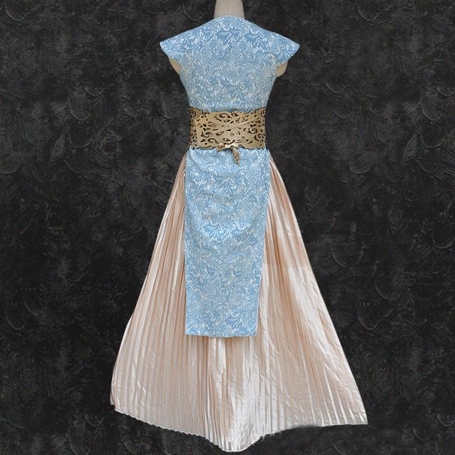 Daenerys Cosplay Costume Cream Queen Dress Games of Thrones ...