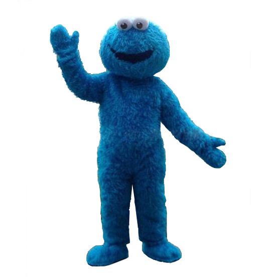 Cookie Monster Kostuem.Giant Cookie Monster Mascot Costume Costume Party World