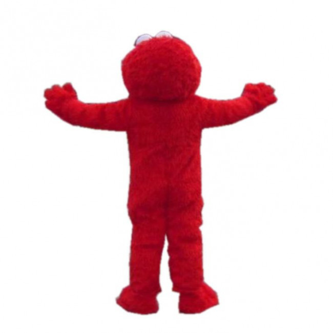 Giant Elmo Mascot Costume Costume Party World