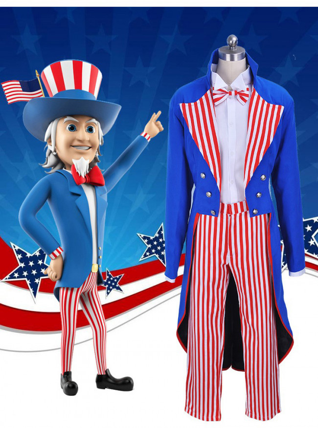 uncle sam complete cosplay costume costume party world