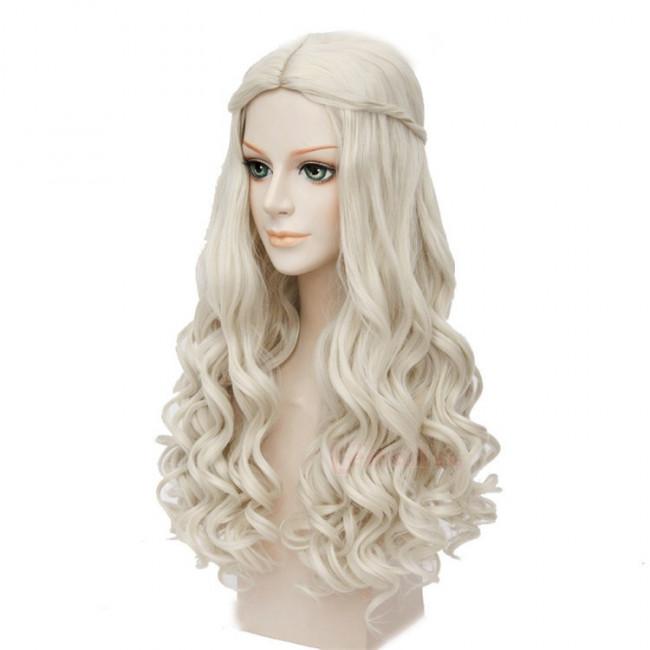 White Queen Alice in Wonderland Hair Wig  sc 1 st  Costume Party World & White Queen Alice in Wonderland Hair Wig | Costume Party World