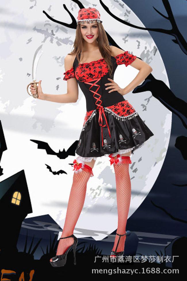 2a4546916e Halloween masquerade ball sexy women pirate dress costume jpg 650x975 Women  masquerade dress