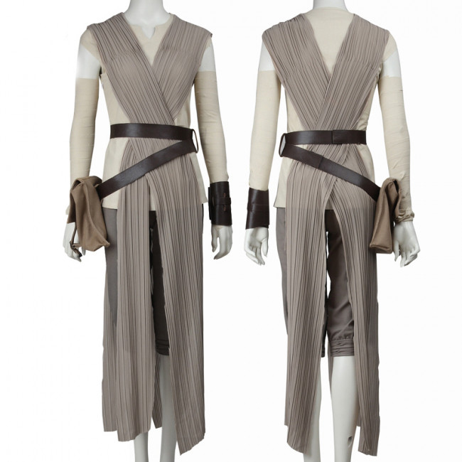 Star Wars Halloween Costumes.Rey Official Star Wars Complete Cosplay Halloween Costume