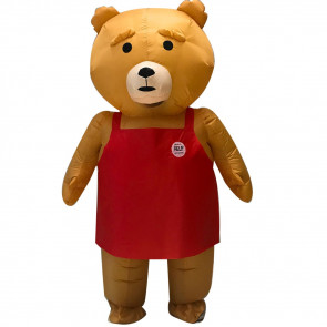 Inflatable Ted Bear Costume