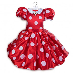 Disney Minnie Mouse Red Polka Dress Costume