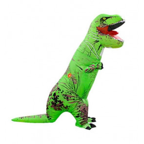 Rex Green Dinosaur Inflatable Costume