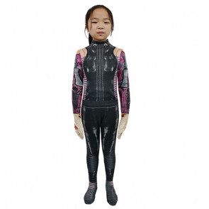Girls Alita Battle Angel Cosplay Costume