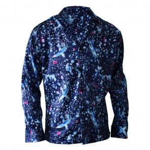 Stranger Things Eleven Blue Shirt Costume