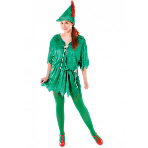Womens Peter Pan Costume