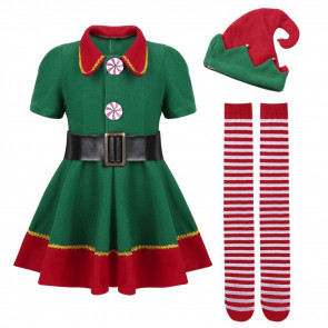 Girls and Women Elf Costume